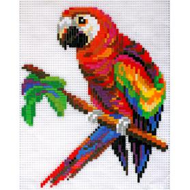 Stickit 41130 Papagaai ( Ministeck 31722)