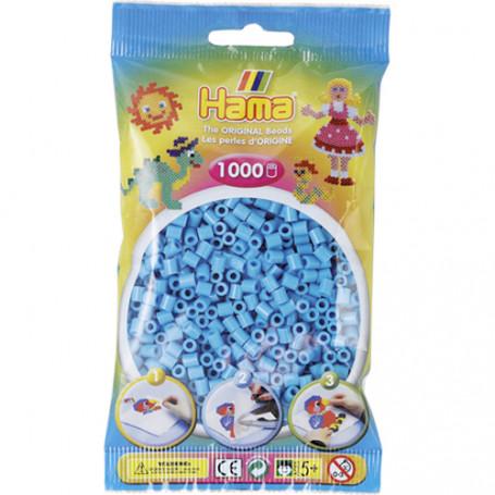 Hama strijkkralen 49 Azuur Blauw