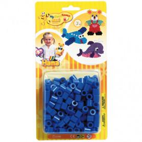 Hama maxi strijkkralen blauw 250 st.