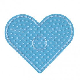 Hama maxi strijkkralen grondplaat hart