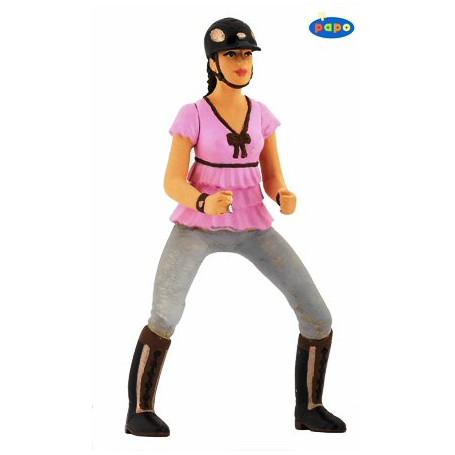 Papo 52006 Trendy riding girl