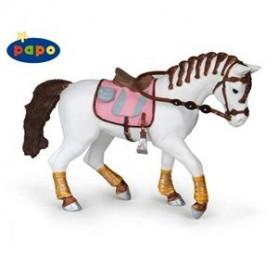Papo 51525 Paard met gevlechte manen