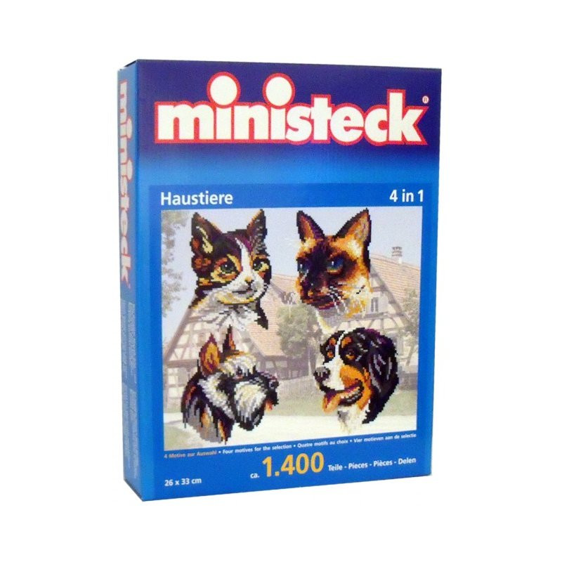 Stickit 41148 huisdieren 4 in 1