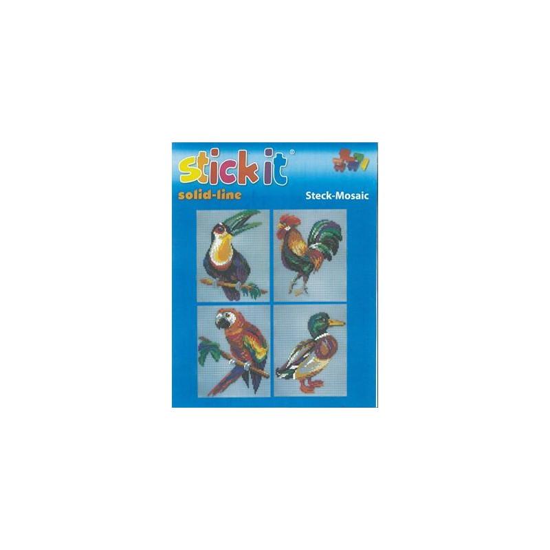 Stickit 41147 Vogels 4 in 1