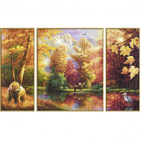 Indian Summer - Schipper Drieluik 50 x 80 cm