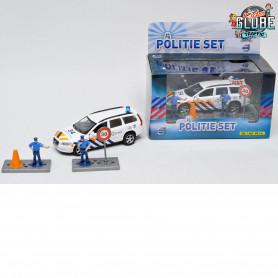 Politie met licht en geluid en accessoires