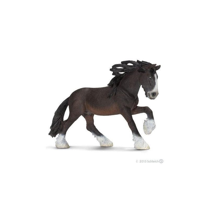 Schleich 13734 Shire stallion