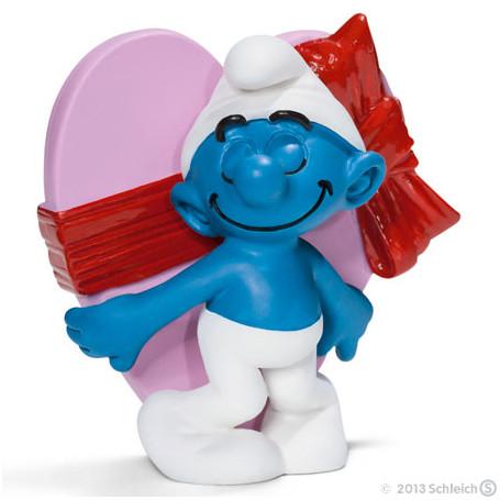 Schleich 20747 Schtroumpf de la Saint-Valentin