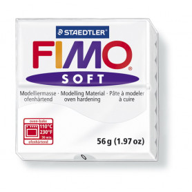 Fimo soft nr 0 Wit
