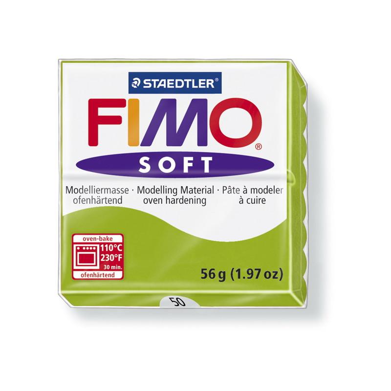 Fimo soft nr 50 Appelgroen