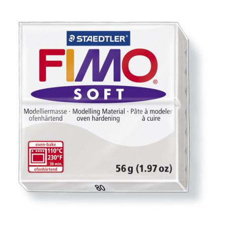 Fimo soft nr 80 Dolfijn grijs