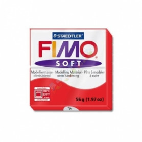 Fimo soft nr 24 Indisch rood