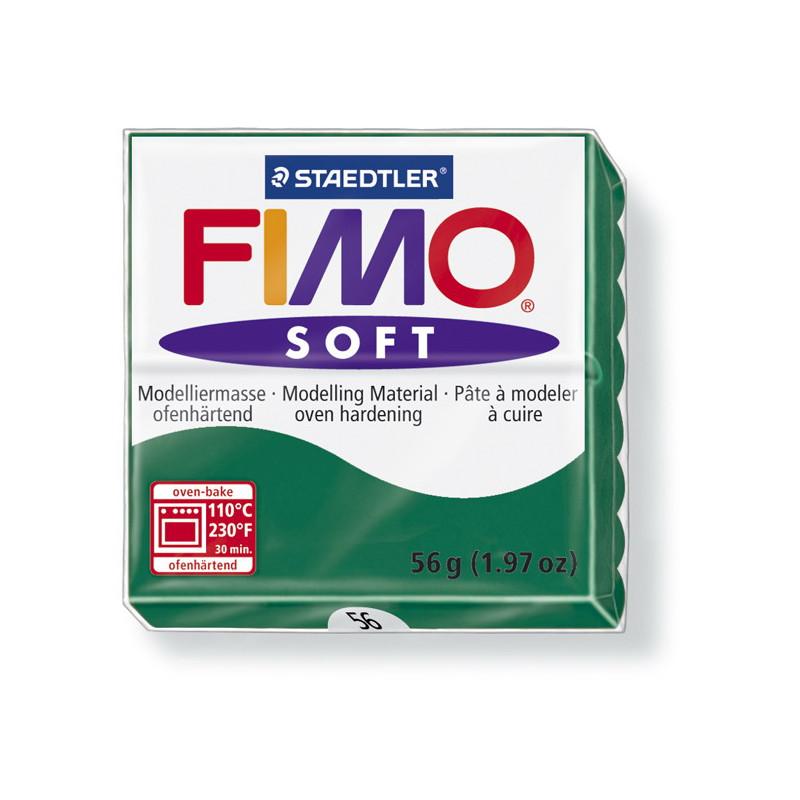 Fimo soft nr 56 Smaragd