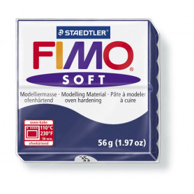 Fimo soft nr 35 Windsor blauw