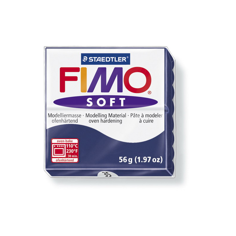 Fimo soft nr 35 Windsor blauw
