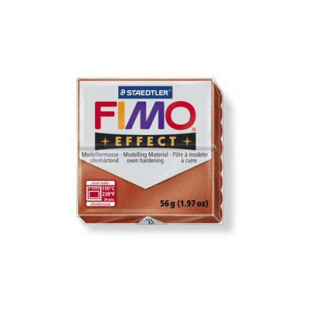 Fimo Effect nr. 27 metallic koper