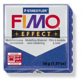 Fimo Effect nr. 302 Glitter blauw