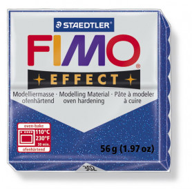 Fimo Effect nr. 302 Glitter Blue