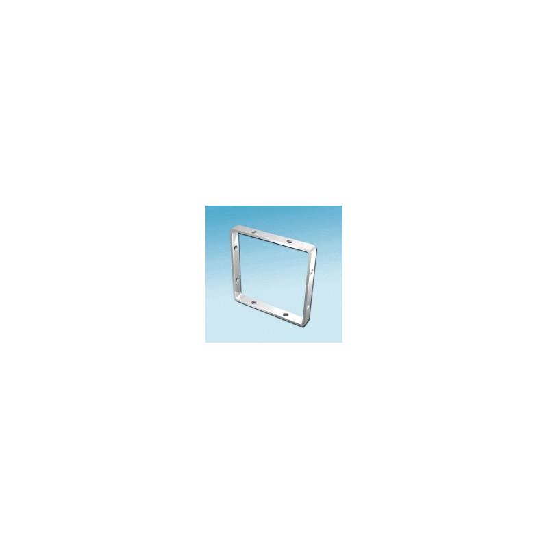 Fimo hanger vierkant 25x25 mm. 4 stuks