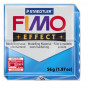 Fimo Effect nr. 374 transparant blauw
