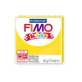 Fimo Kids nr. 1 gelb