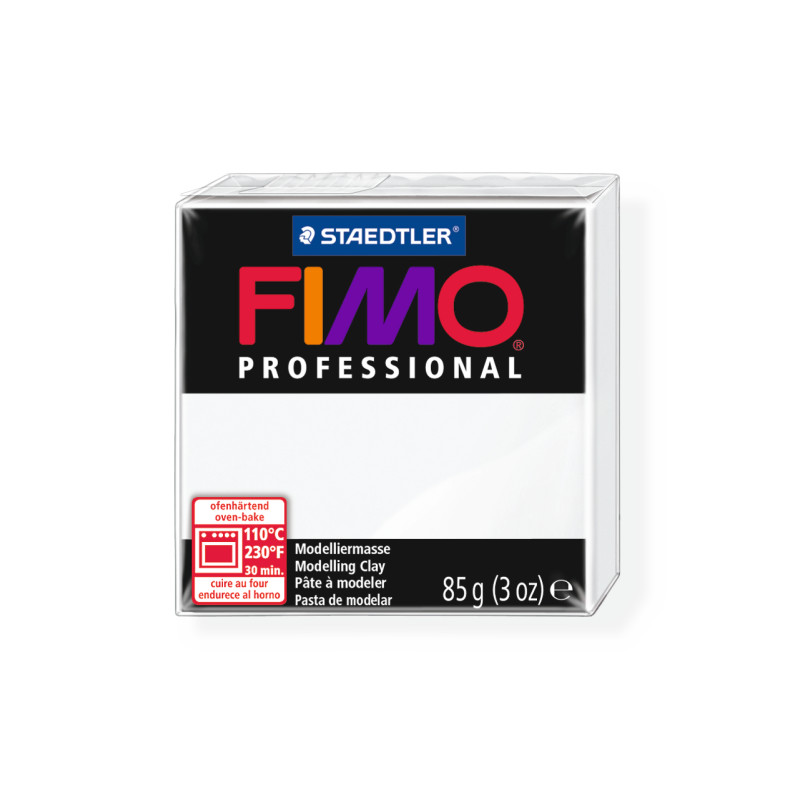 Fimo Professional 0 wit