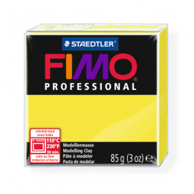 Fimo Professional 1 lemon yellow