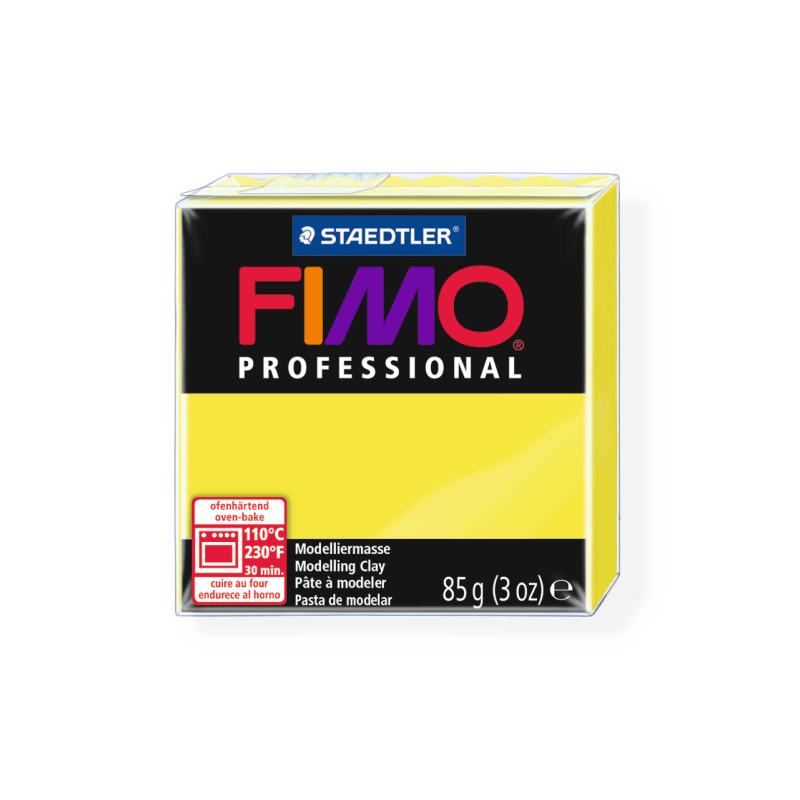 Fimo Professional 1 citroen geel
