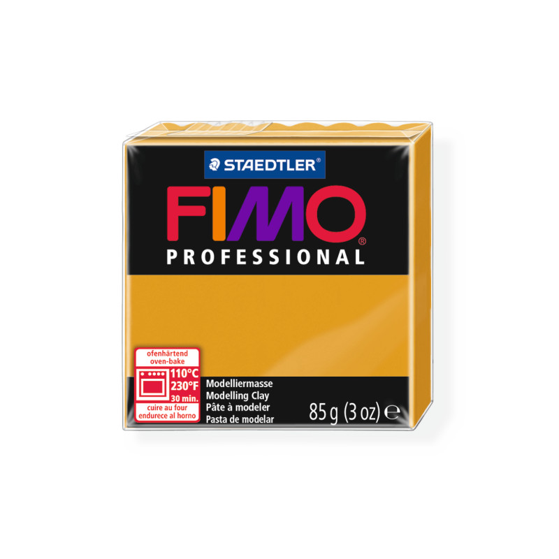 Fimo Professional 17 oker geel