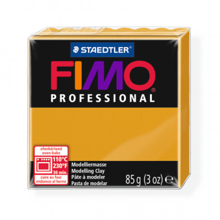 Fimo Professional 17 oker geel
