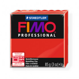 Fimo Professional 200 pure red