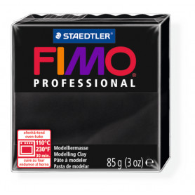 Fimo Professional 9 schwarz