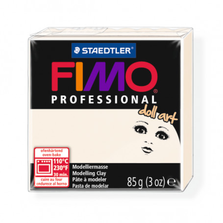 Fimo professional doll art. color 03 transparant porselein