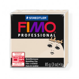 Fimo professional doll art. color 44 beige semi opaque
