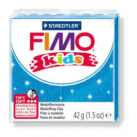 Fimo Kids nr. 312 glitter blauw