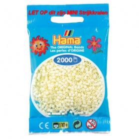 Hama mini beads color 02 Creme