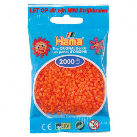 Hama mini beads color 04 Orange
