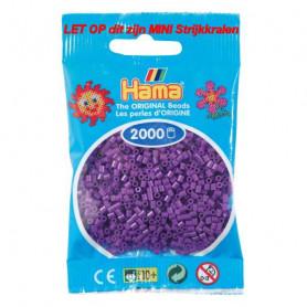 Hama mini beads color 07 Purple