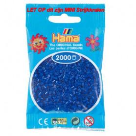 Hama mini kralen kl 08 donkerblauw