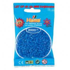 Hama mini kralen kl 09 lichtblauw