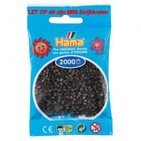 Hama mini beads color 12 Chocolate Brown
