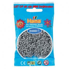 Hama mini beads color 17 Grau