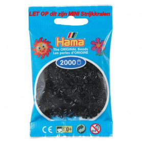 Hama mini beads color 18 Black