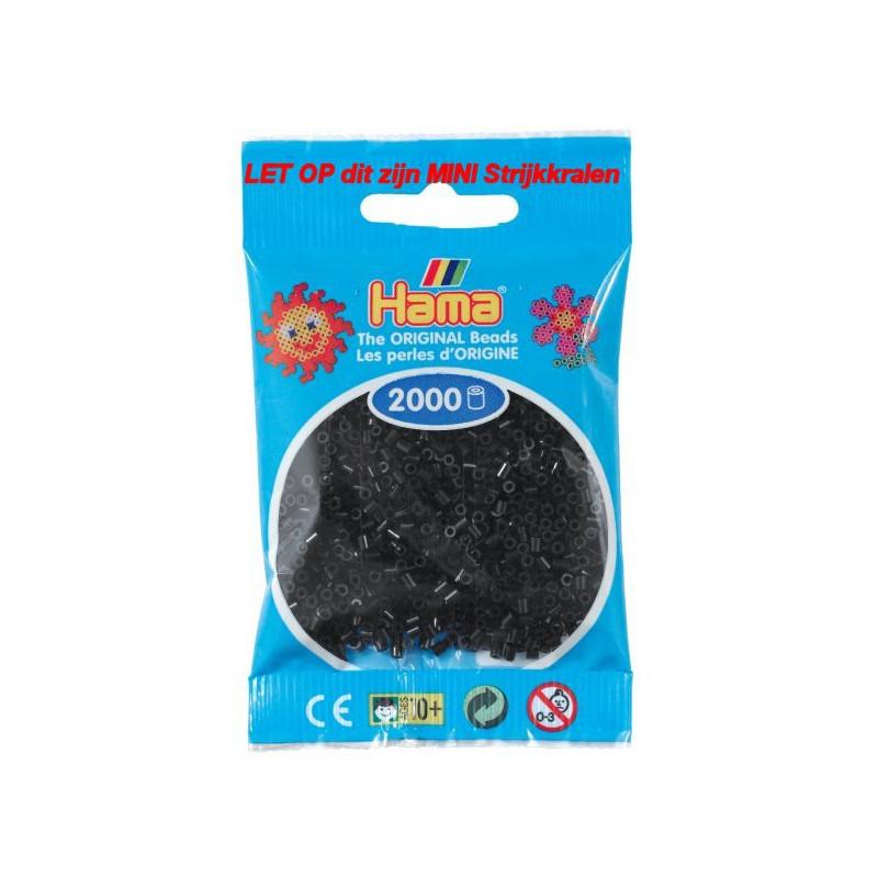 Hama mini kralen kl 18 zwart