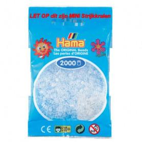Hama mini beads color 19 Transparent-Weiß
