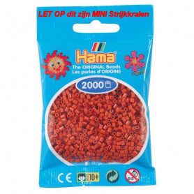 Hama mini beads color 20 Reddish Brown