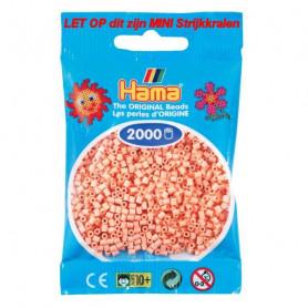 Hama mini beads color 26 Matt Rose