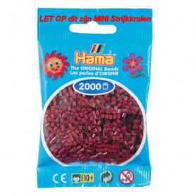 Hama mini beads color 30 Maulbeer