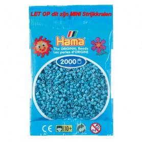 Hama mini beads color 31 Türkis