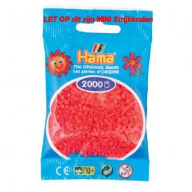 Hama mini beads color 33 Cerise Pink